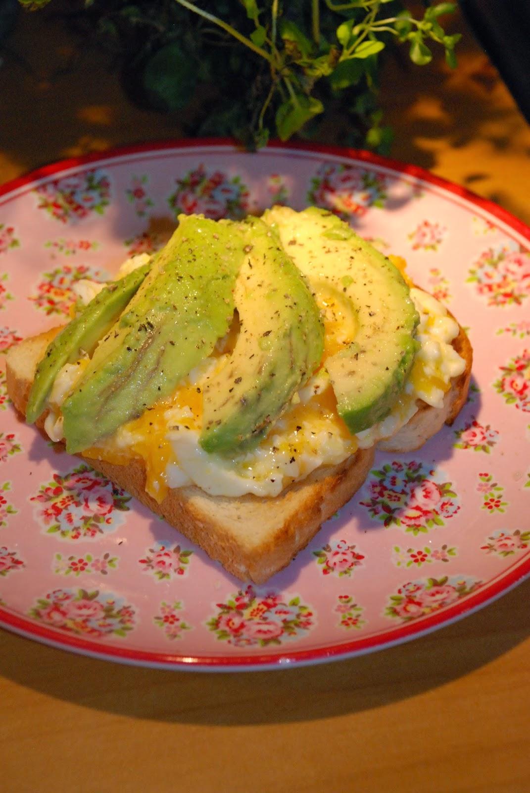 gott med avokado