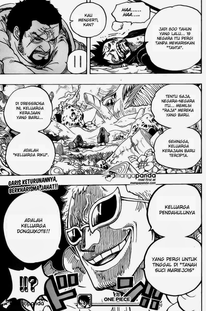 Komik One Piece 722 Bahasa Indonesia