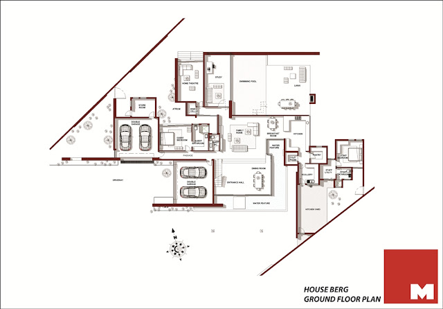 Ber House ground floor floor plan