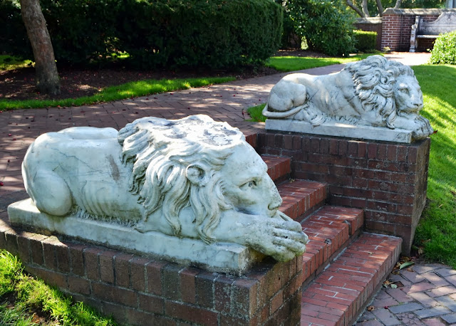 Lions of Lynch Park, Beverly, Massachusetts