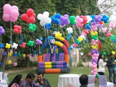 Decoraci n con globos para eventos o fiestas casas - Globos para eventos ...