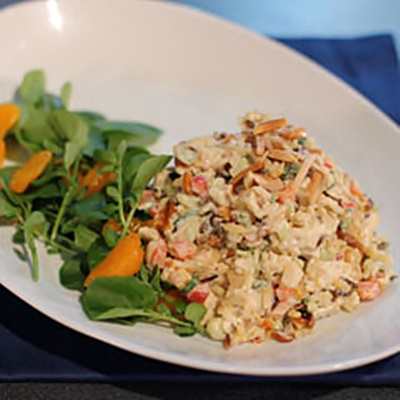 Asian Chicken And Wild Rice Salad