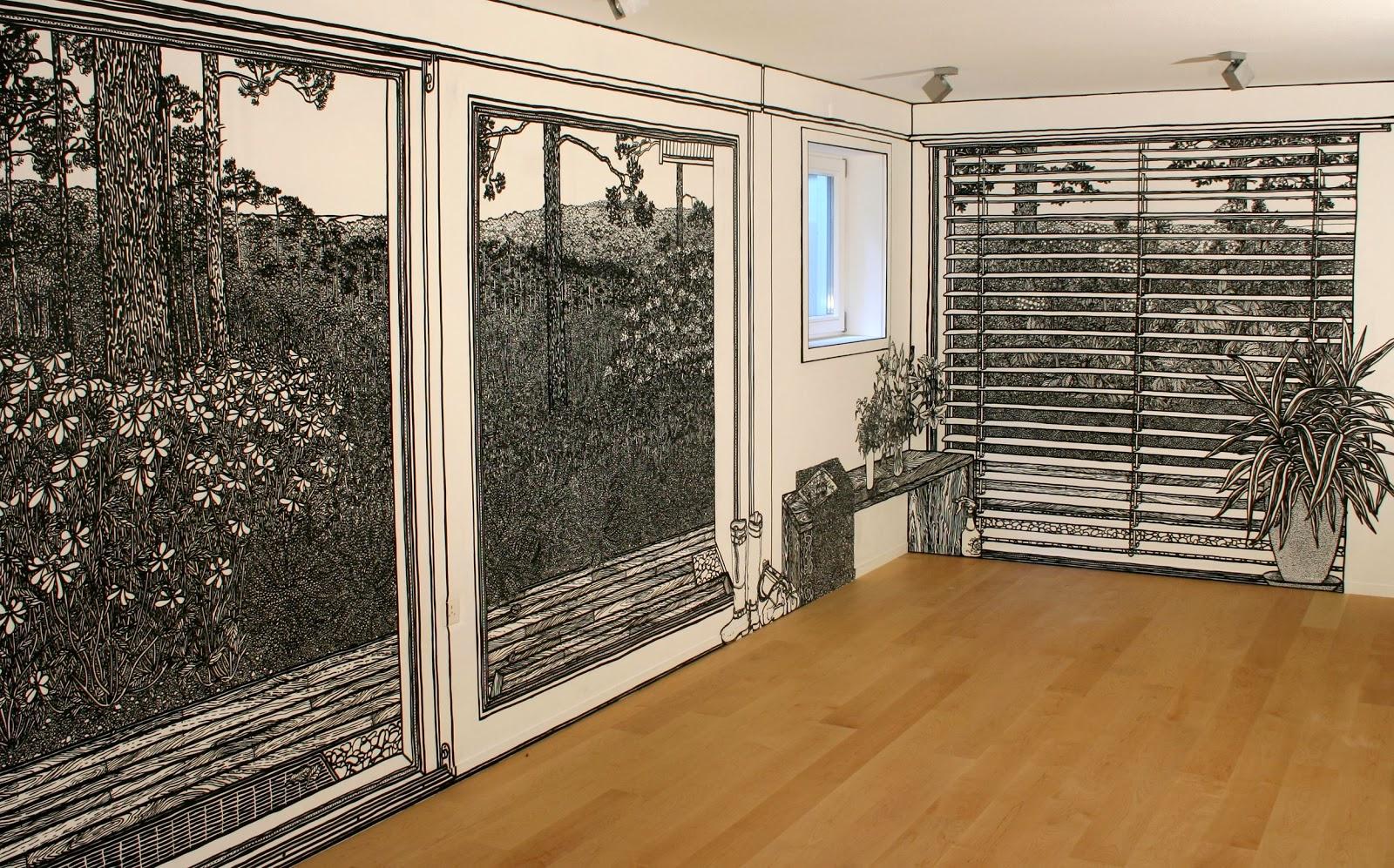 06-Artist-Charlotte-Mann-Draw-on-Walls-www-designstack-co