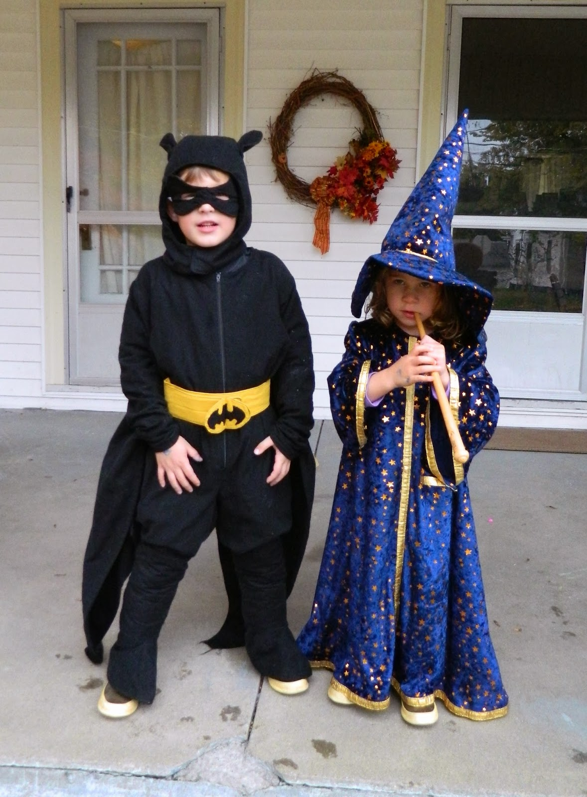 jaimalaya: Homemade Friday: Batman and The Wizard