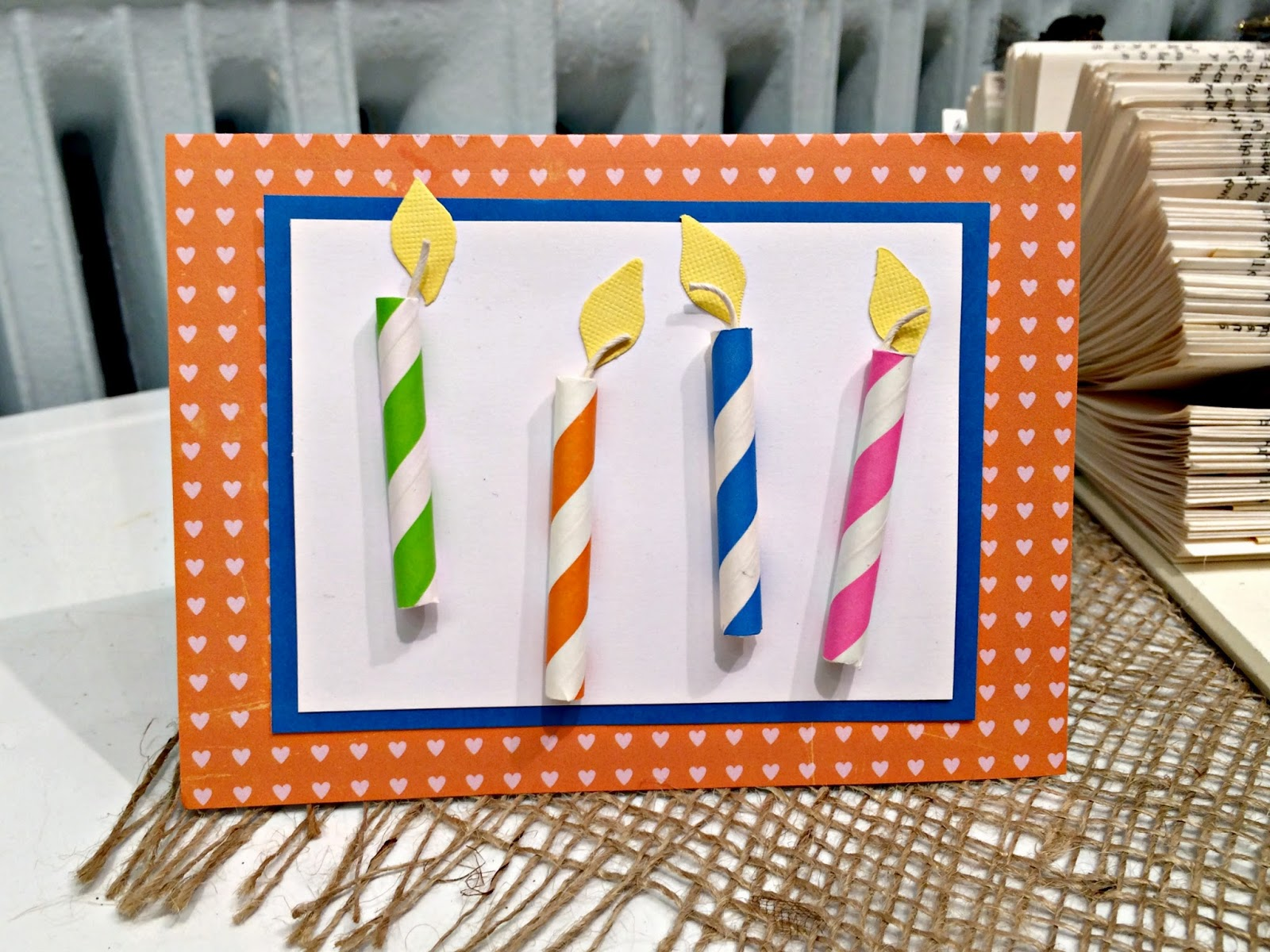Birthday Card Craft Outside the Box Papers