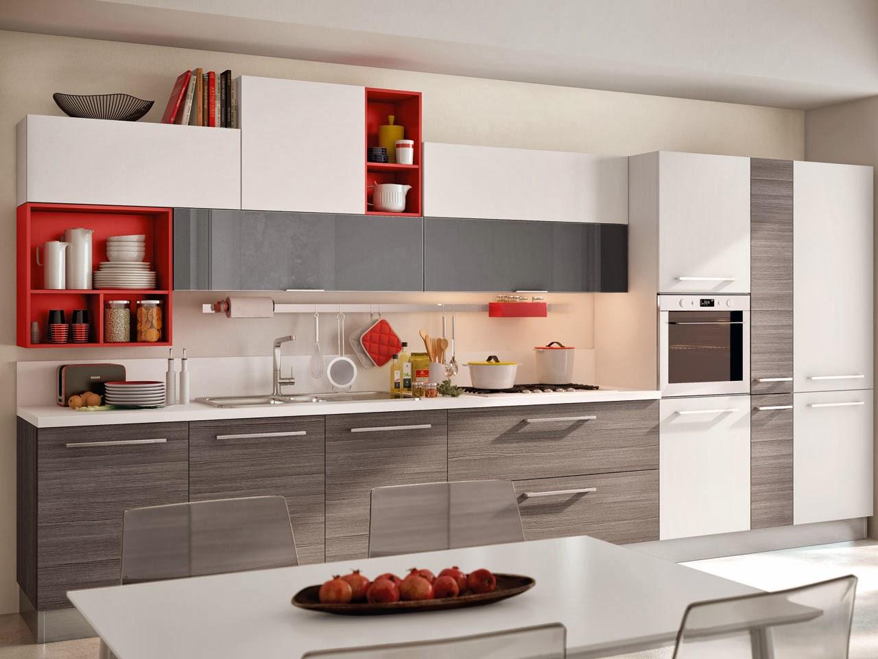 Soggiorno E Cucina Insieme: Cucina Open Space (foto 4/40) Tempo Libero  #A32F28 1280 960 Arredamento Cucina Soggiorno Open Space