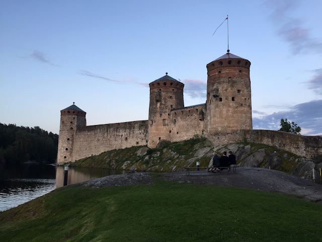 The Great Finnish Road Trip, Finnish Road Trip, road trip Finland, Savonlinna Finland, Savonlinna castle, Olavinlinna castle Finland