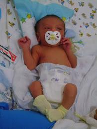 Meu pequeno com 6 dias de nascido