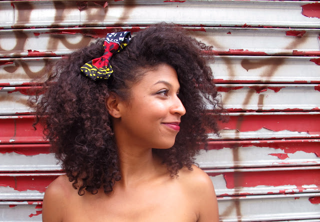 AROUND THE WAY CURLS, hair accessories, natural hair, hair bows, shanti