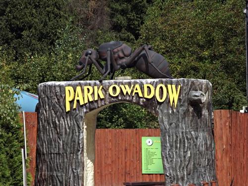 park owadów, park mitologii, park bajek i wodnych stworzeń, zator, dinozatorland