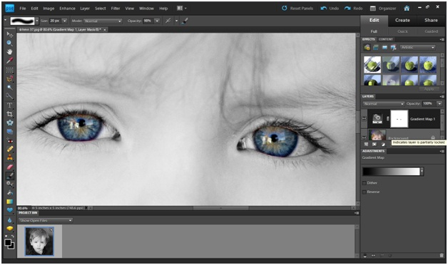 how to fix blotchy skin in photoshop elements