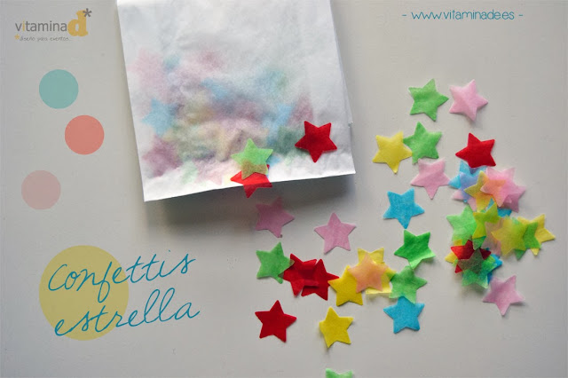 confettis estrella