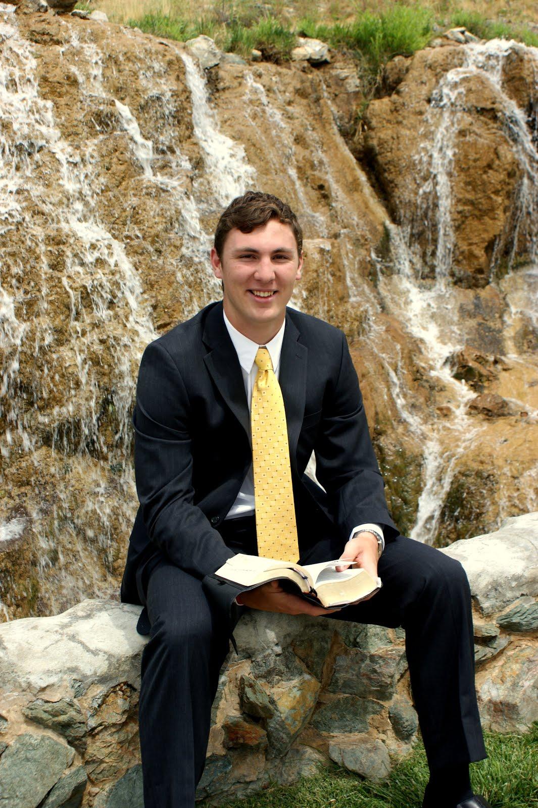 Elder Mitchell Halverson