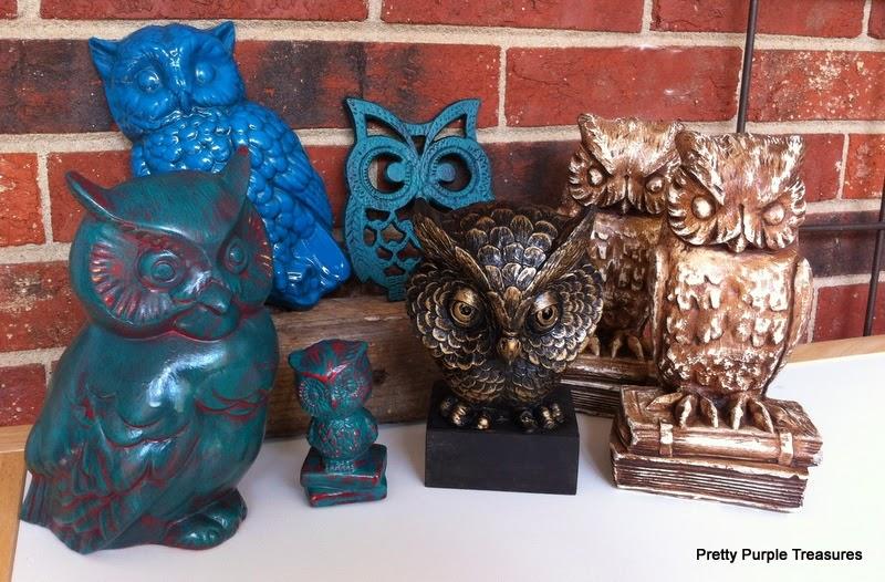 thrift store owls