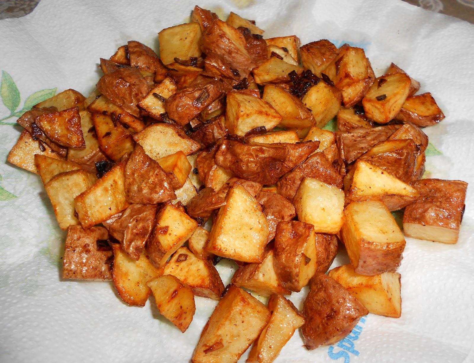 Fried Potatoes And Eggs Recipe — Dishmaps