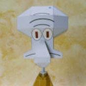 Spongebob, Squidward Papercrat