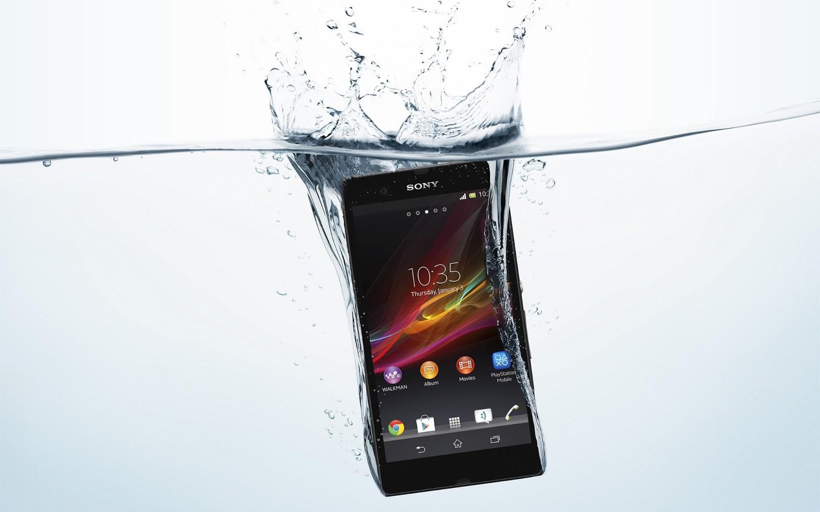 Celular à prova d'água Xperia™ Z3 Compact Sony Xperia  - imagens de celular xperia