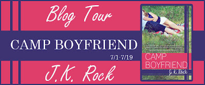 Blog Tour: Camp Boyfriend (Camp Boyfriend #1) by JK Rock
