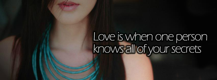 facebook quote covers girls love covers