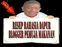 Resep Rahasia Dapur Blogger Pemuja Makanan