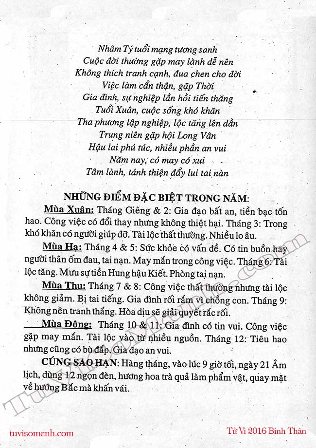 nam 2016 Nham Ty