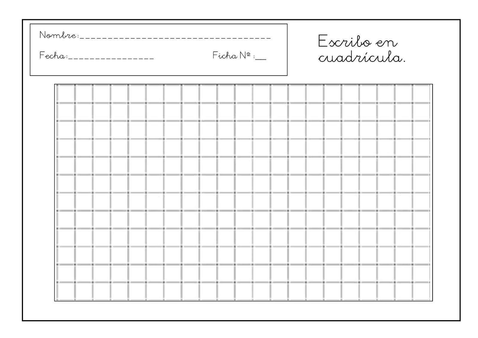 RECURSOS DE EDUCACIÓN INFANTIL: PLANTILLAS PARA ESCRIBIR