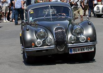 Jaguar XK120 1949