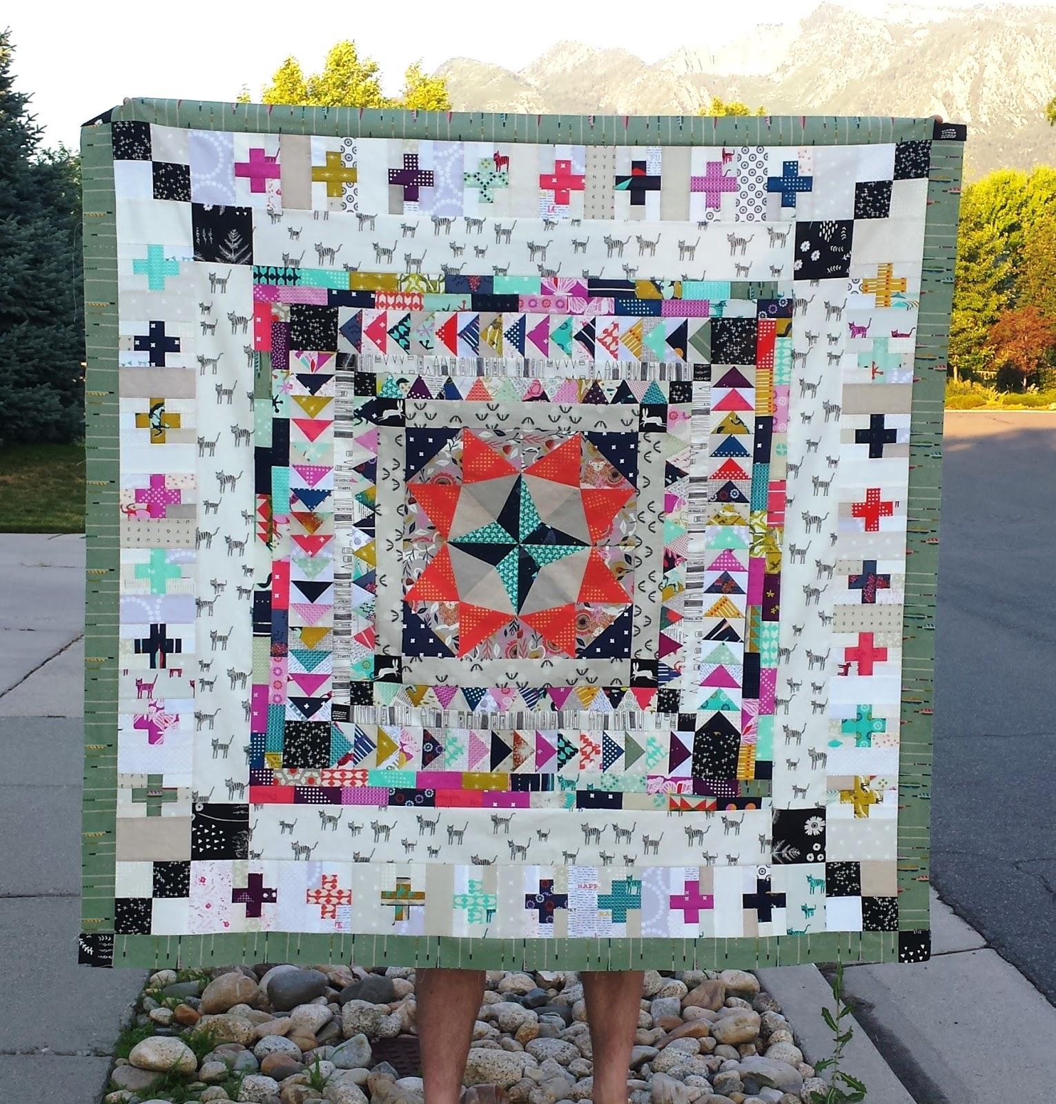 modern finished quilt medallion finally alimakes