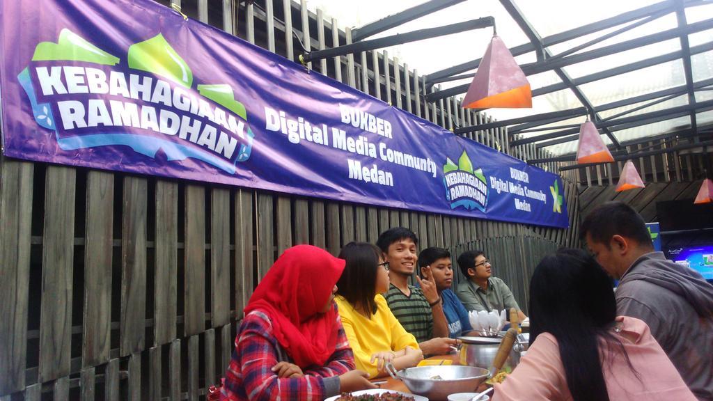 Rumah Silaturahim XL Netizen Kota Medan
