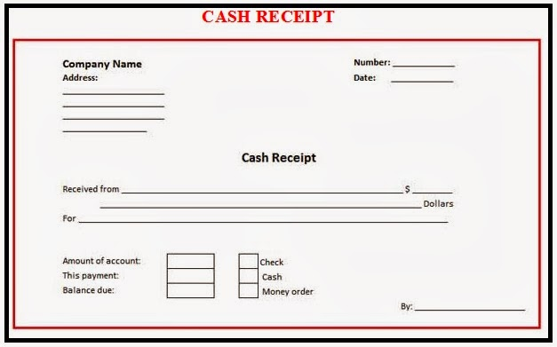 Review and download free excel cash receipt formats and samples – Company Receipt