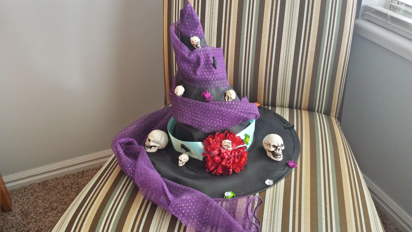homemade witch hat