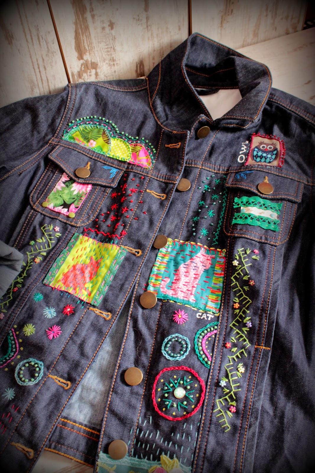 Как обновить джинсовую куртку своими руками 7