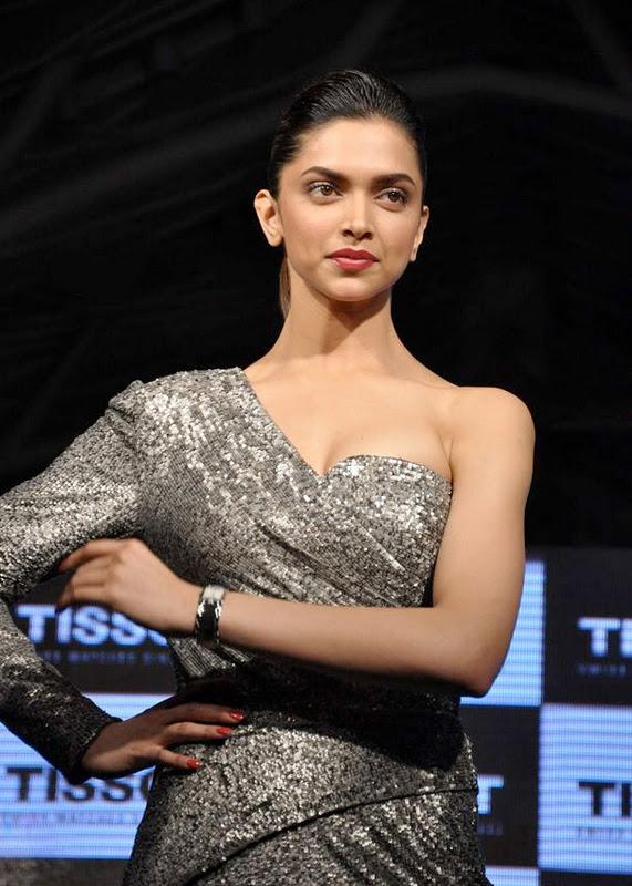 Deepika Padukone At Tissot Watches New Spicy Stills Gallery