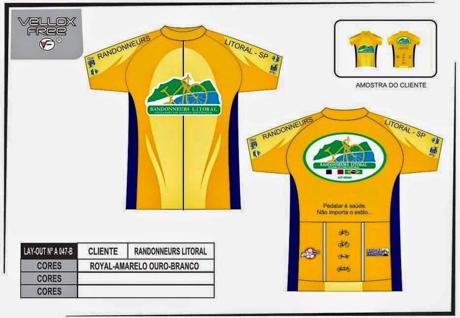 informamos que as camisas Randonneurs Litoral estão novamente a venda af40591868e02