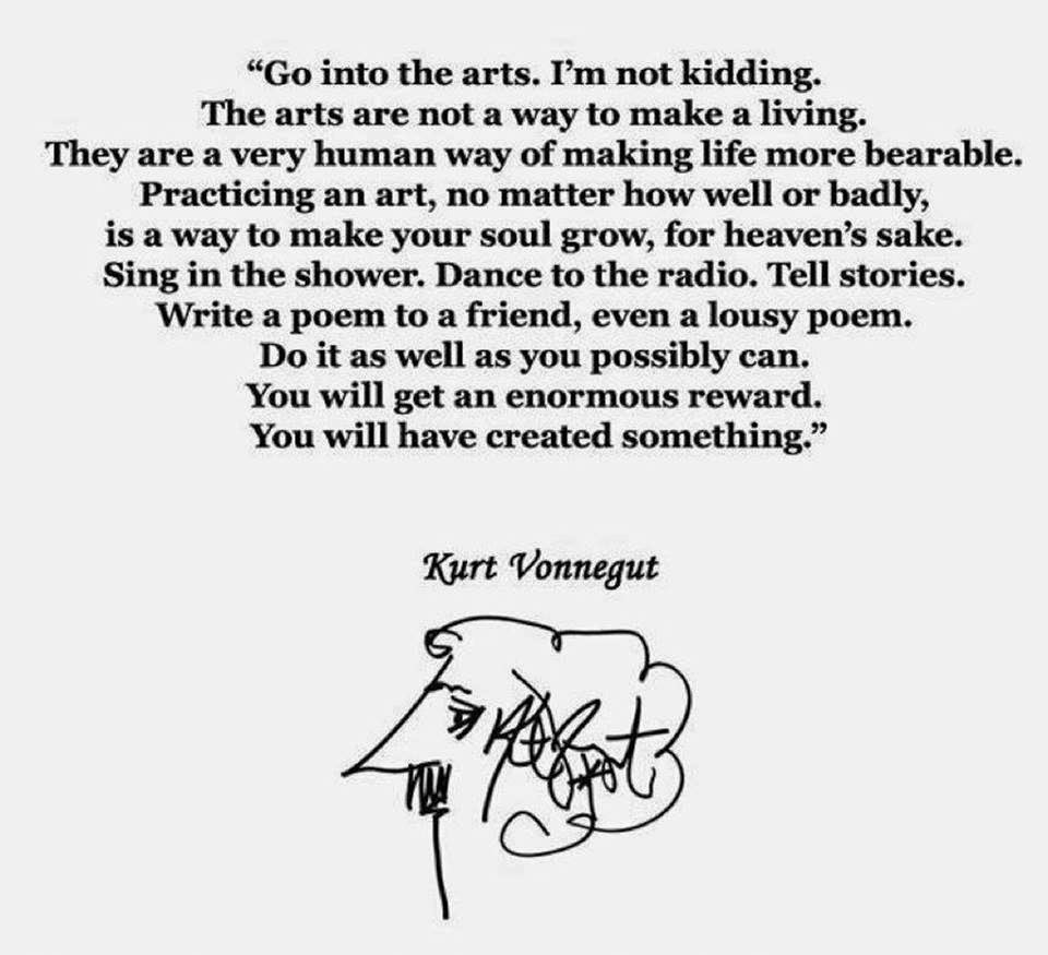 Get into the arts