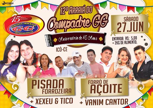 12º ARRAIÁ DO CUMPADRE GG
