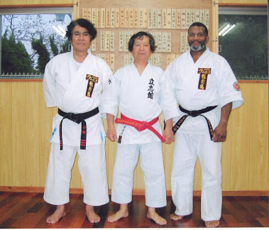 Sensei's Irie, Kiyuna, and Jackson