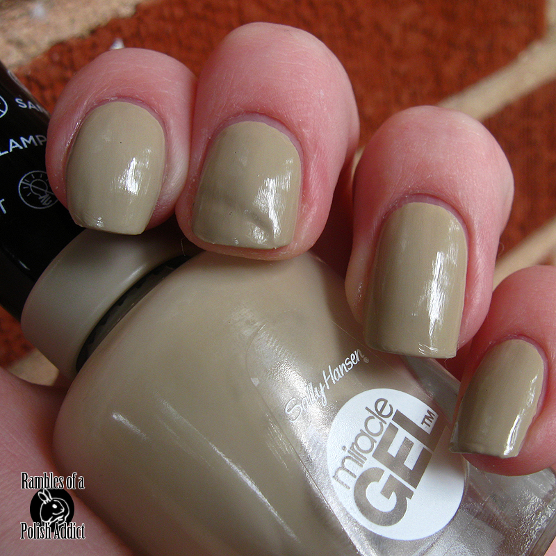 Sally hansen miracle gel swatches rambles of a polish addict