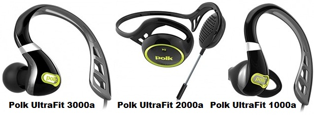 Polk Ultrafit Headphone, Polk UltraFit 3000a, UltraFit 2000a, UltraFit 1000a