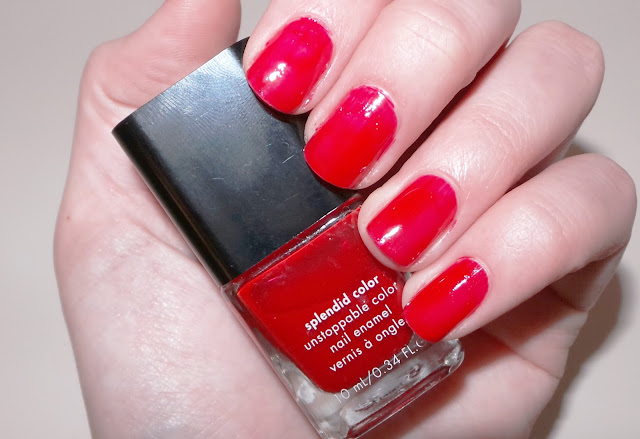 Calvin Klein Nail Polish Swatch Red Red