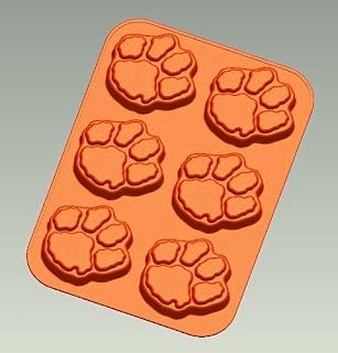 Clemson Tigers NCAA Logo Cupcake & Muffin Pan