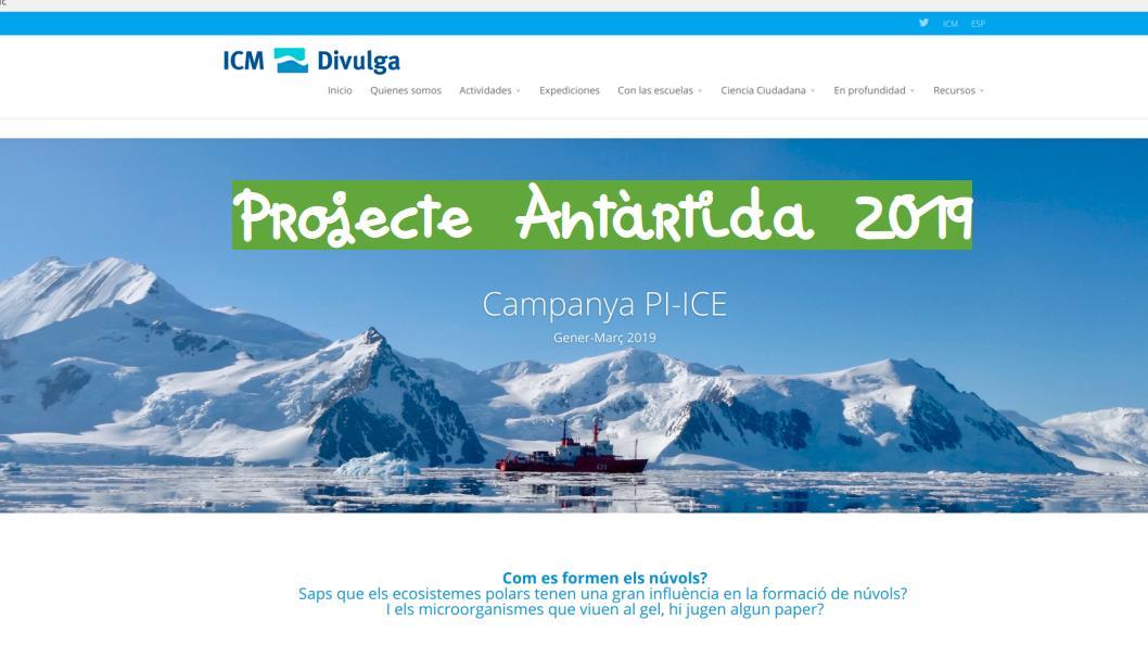 Projecte Antàrtida 2019