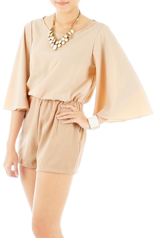 Destiny Playsuit with Bell Sleeves
