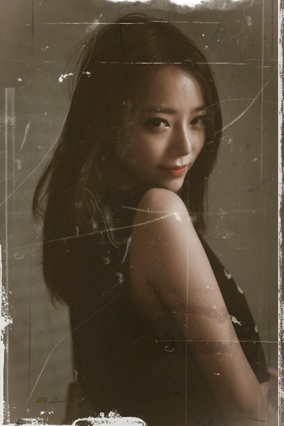 5 The wonderful Ji Yeon in 3 new sets - very cute asian girl - girlcute4u.blogspot.com