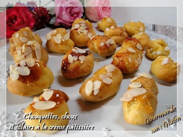 chou chouquette sans gluten