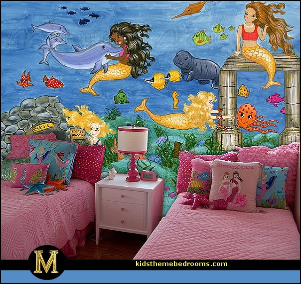 mermaid bedding mermaid wall murals mermaid bedding mermaid wall