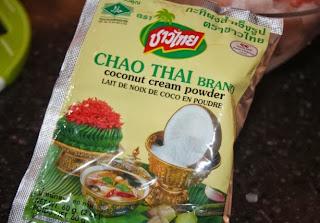 coconut cream powder, кокосовое молоко