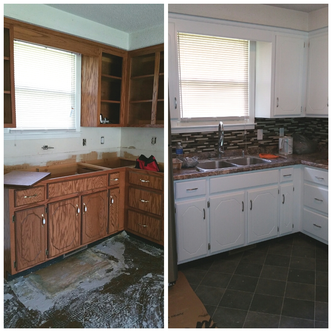 Painting Clarksville Tennessee : Kitchen Cabinet Repaint