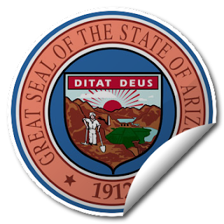 Sticker of Arizona Seal