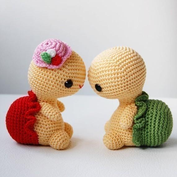 Kawaii Amigurumi Anleitung : ? Bichinhos de croch? (lindos, lindos, lindos!) : ? Mil ...